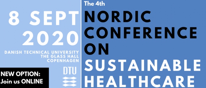 Join us Online - Nordic Conference on Sustainable Healthcare