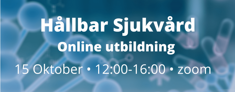 15 October - Online Training: Sustainable Healthcare